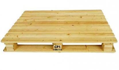 light wood used pallet